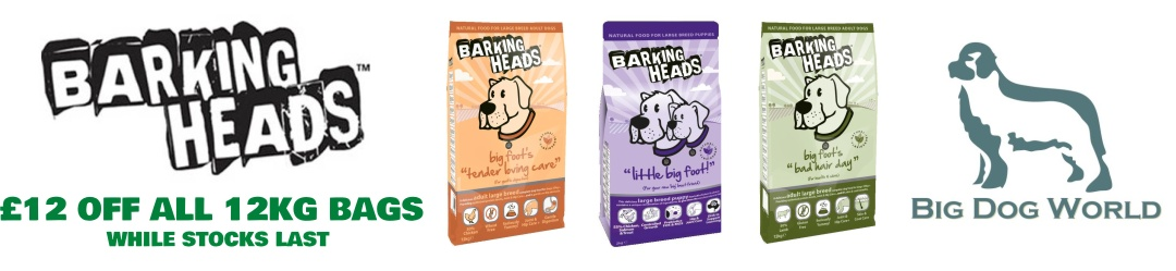 Barking Heads Dog Food - £12 off all 12Kg Bags