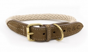 Ralph and Co Braided Rope Collar