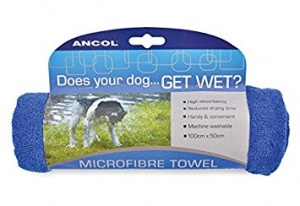 Ancol Microfibre Dog Towel