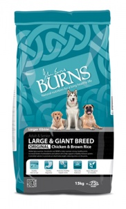 Burns Large Breed Chicken 15Kg