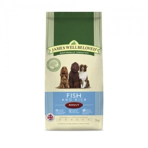 James Wellbeloved Adult Fish and Rice 15Kg
