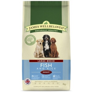 James Wellbeloved Large Breed Adult Fish and Rice 15Kg