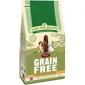 James Wellbeloved Grain Free Turkey and Vegetable 10Kg