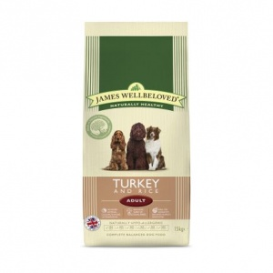 James Wellbeloved Large Breed Adult Turkey and Rice 15Kg