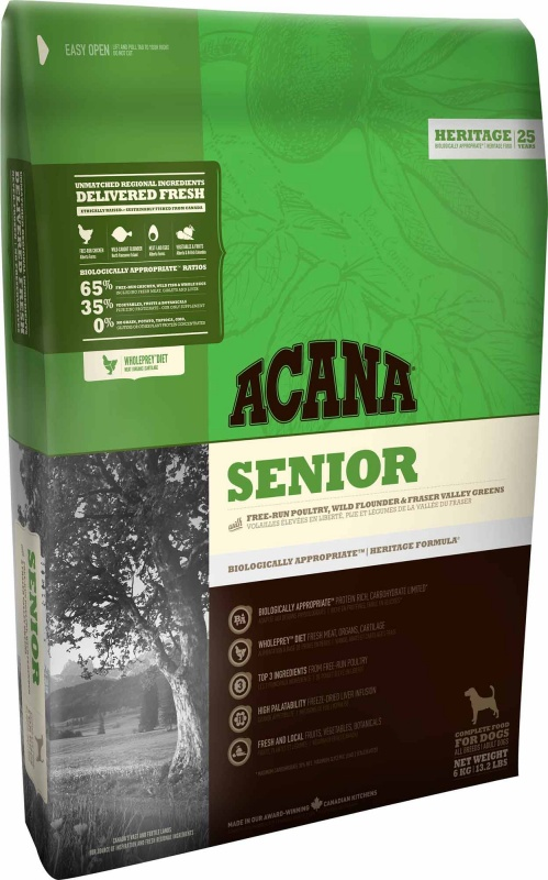 Reviews On Accana Senior Dry Dog Food