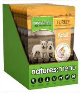 Natures Menu - Turkey and Chicken