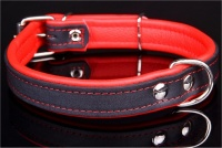 Big Dog World Leather Collar