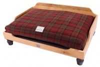 Berkeley Oak Frame Dog Bed
