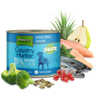 Natures Menu Country Hunter Cans - Mackerel and Chicken