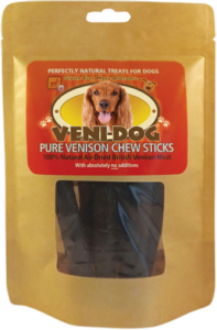Veni-dog Venison Chew Sticks