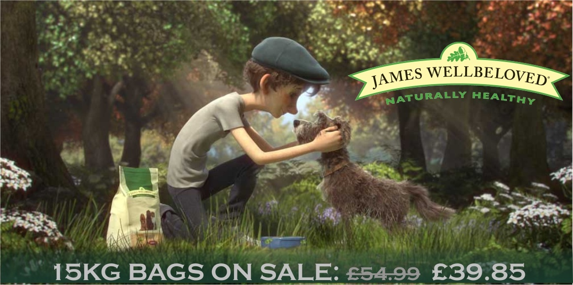 Facebook Competition - Win James Wellbeloved Dog Food