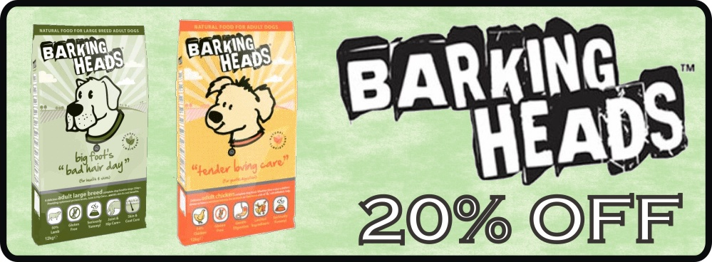 Barking Heads Dog Food 12Kg - 20% Off