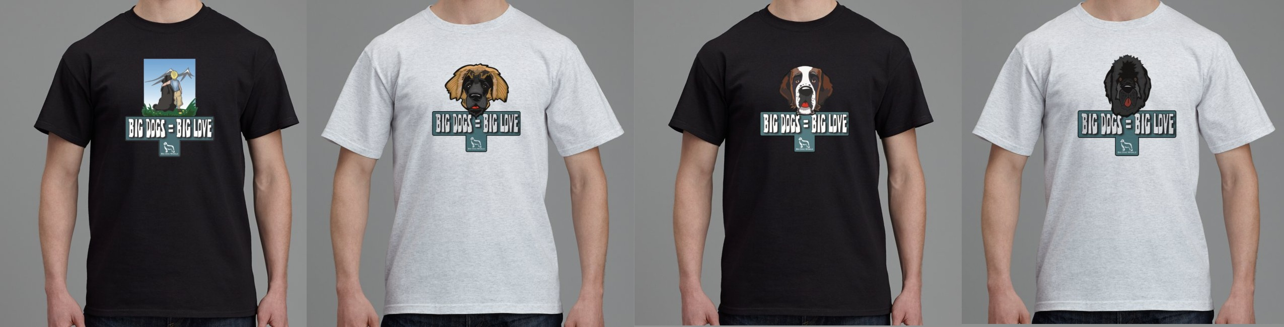 New Big Dog World T-Shirts