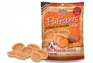 Puffsters Sweet Potato and Chicken Chips