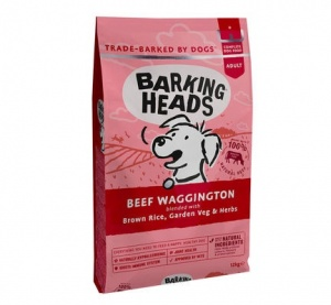 Barking Heads Beef Wagginton 12Kg