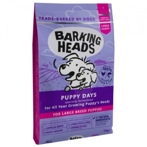 Barking Heads Large Breed Puppy 18Kg