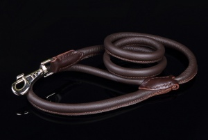 Big Dog World Round Leather Lead