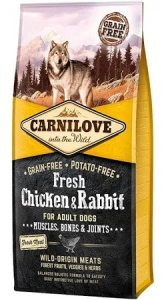 Carnilove Adult Chicken and Rabbit 12Kg