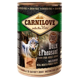 Carnilove Duck and Pheasant Wet Dog Food