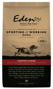 Eden 80/20 Country Cuisine Medium Working Dog Food 15Kg