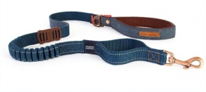 EzyDog Zero Shock 48'' Lead - Denim
