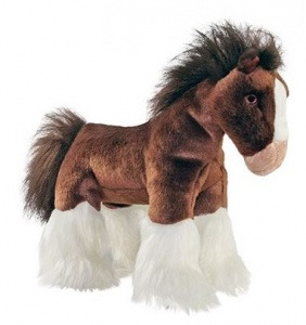 Fluff and Tuff Clyde Horse