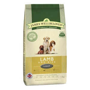 James Wellbeloved Lamb and Rice Light 12.5Kg