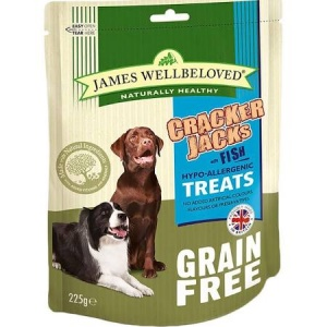 James Wellbeloved Crackerjacks - Grain-Free Fish