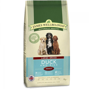 James Wellbeloved Large Breed Adult Duck and Rice 15Kg