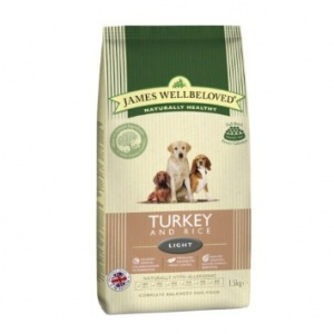 James Wellbeloved Turkey and Rice Light 12.5Kg