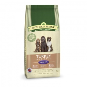 James Wellbeloved Senior Turkey and Rice 15Kg