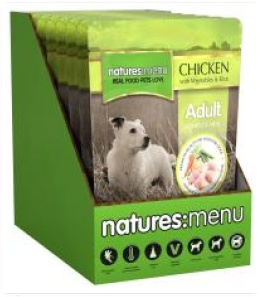 Natures Menu - Chicken and Vegetables