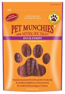 Pet Munchies Duck Breast Strips