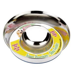 Stainless Steel Non-Slip Slow Feeder Bowl