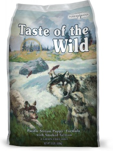 Taste of the Wild Puppy: Pacific Stream Salmon 12.2Kg