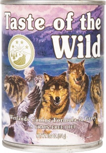 Taste of the Wild Wetlands Tins