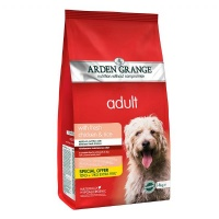 Arden Grange Chicken and Rice 12+2Kg Free