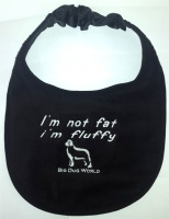 Big Dog World Dog Bib - I'm Not Fat I'm Fluffy