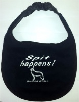 Big Dog World Dog Bib - Spit Happens