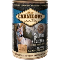 Carnilove Salmon and Turkey Wet Dog Food
