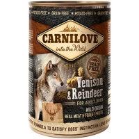 Carnilove Venison and Reindeer Wet Dog Food