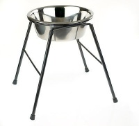 Classic Dog Bowl Stand - Large