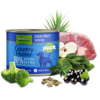 Natures Menu Country Hunter Cans - Wild Boar and Blackcurrant