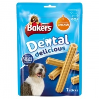 Bakers Dental Delicious Large Chicken (7 sticks)