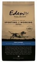 Eden 80/20 Fish Cuisine Medium Working Dog Food 15Kg