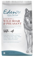 Eden Semi-Moist Wild Boar and Pheasant Dog Food 12Kg