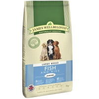 James Wellbeloved Large Breed Junior Fish and Rice 15Kg