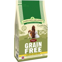 James Wellbeloved Grain Free Lamb and Vegetable 10Kg