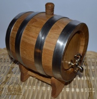 Saint Bernard Barrel (Light Oak)